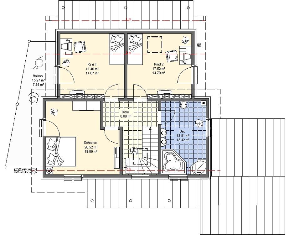 Einfamilienhaus 3 etagen grundriss die neuesten for Pultdachhaus grundriss